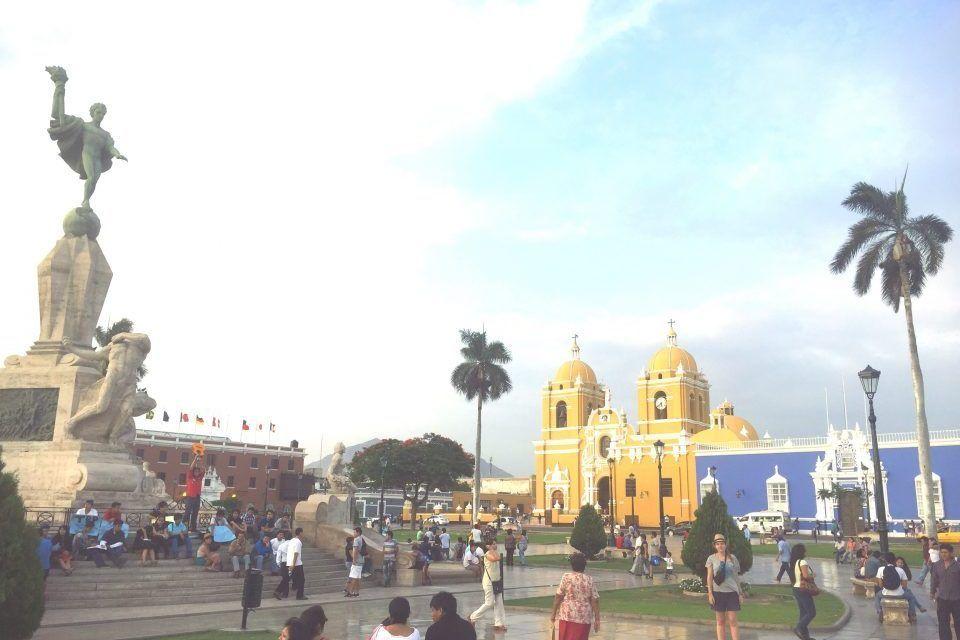 TRUJILLO. La ciudad colonial de Perú
