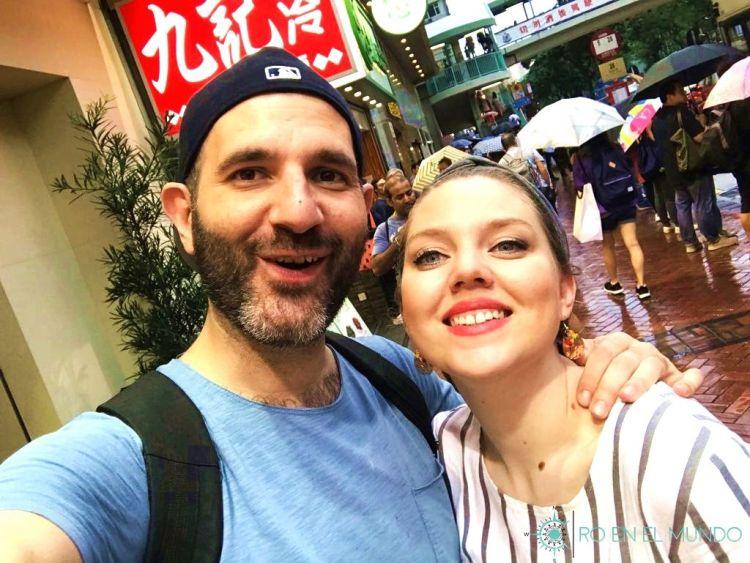 Felices de estar en Hong Kong