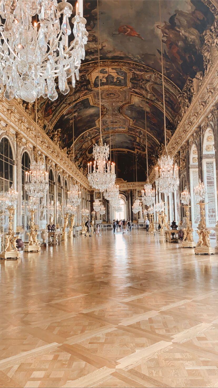 galeria de los espejos de versalles