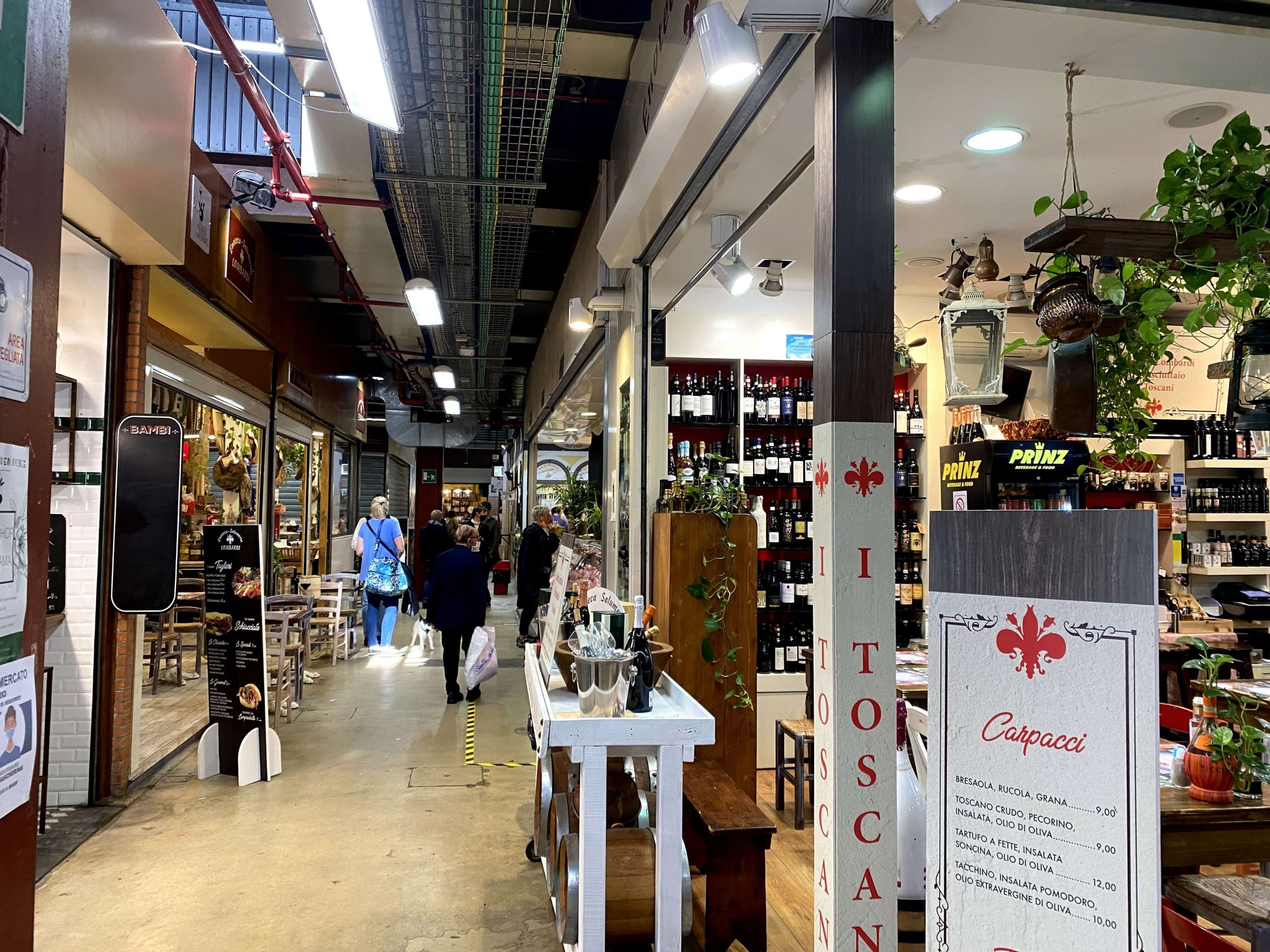 mercado central florencia
