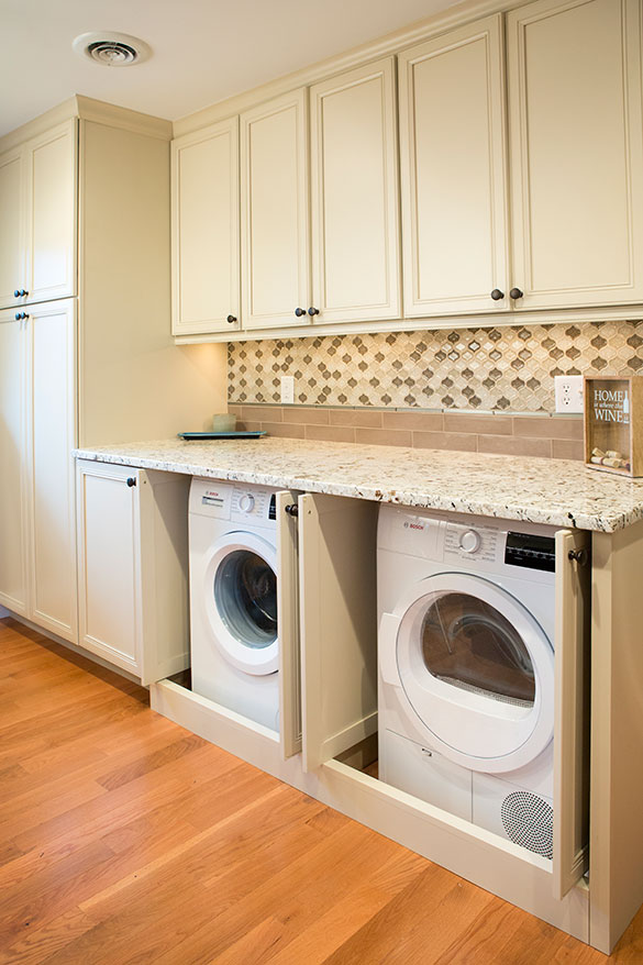 St Louis Kitchen Remodel With Laundry Roeser Home Remodeling
