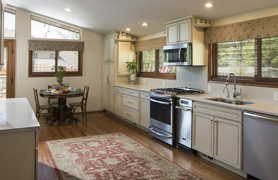 MidCentury Kitchen and Bath Remodel Roeser Home Remodeling