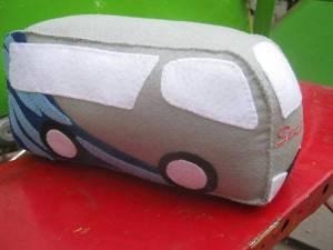Boneka Maskot Bus Sumber Alam 2