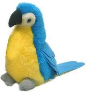 Maskot Boneka Burung Makau