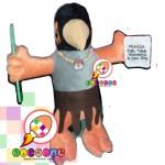 Boneka Maskot KPU Daerah Teluk Wondama Papua