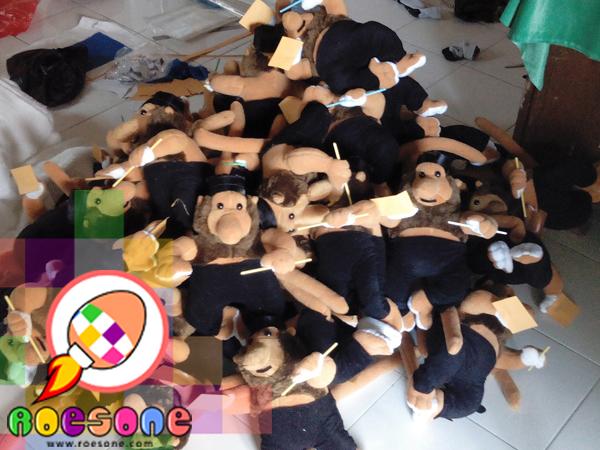 Boneka Maskot KPU Banjarmasin Bekantan