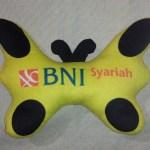 Boneka Promosi BNI Syariah Kupu-kupu