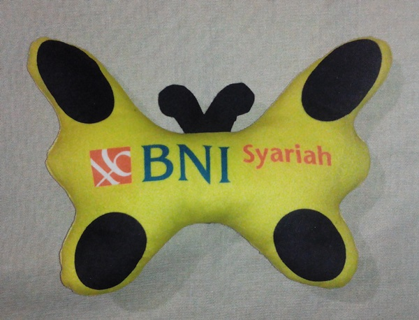 Produsen Boneka Promosi BNI Syariah Kupu-kupu