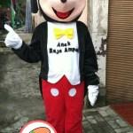 Produsen Boneka Maskot Badut Mickey Mouse Anak Raja Ampat Papua
