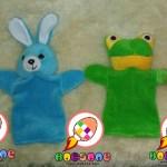 Produsen Boneka Tangan Edukasi Karakter Kelinci dan Kodok
