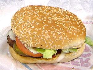 The Whopper - Burger King  introduceret 1957 - den kostede Kitty'er