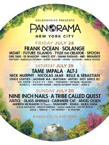 Panorama foregår i New York 28. - 30.juli