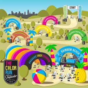Til Colorrun d. 22. maj står Aarhus Pride for gul zone og er klar til at pladre løberne og hinanden med gul farve, regnbueflag og lækker musik. Vi ses!