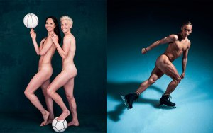 SUE BIRD & MEGAN RAPINOE Point Guard, Seattle Storm 10-time WNBA All-Star Forward, Seattle Reign FC 2015 FIFA Women's World Cup champion // ADAM RIPPON Figure skater 2018 Olympic bronze medalist, team figure skating