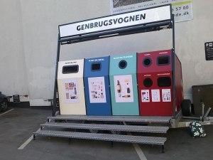 Genbrugsvognen i Latinerkvarteret
