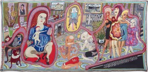 Grayson Perry, The Adoration Of The Cage Fighters 2012