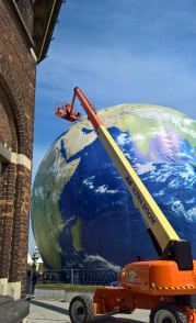 Climate Planet på den nye Havnefront - er vist lidt revnet - i Europa