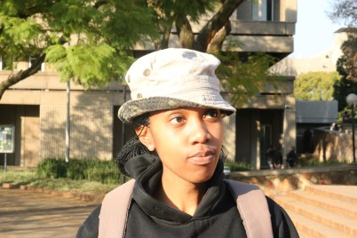 They are both to blame. You know that saying which says it takes two to tango. I mean both participate right, it's a war on both sides. Palesa Mopela 4th year, BA. Photo: Rofhiwa Madzena