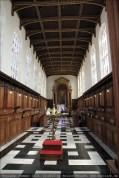 Chapel 30 Sekunden vor Schließung