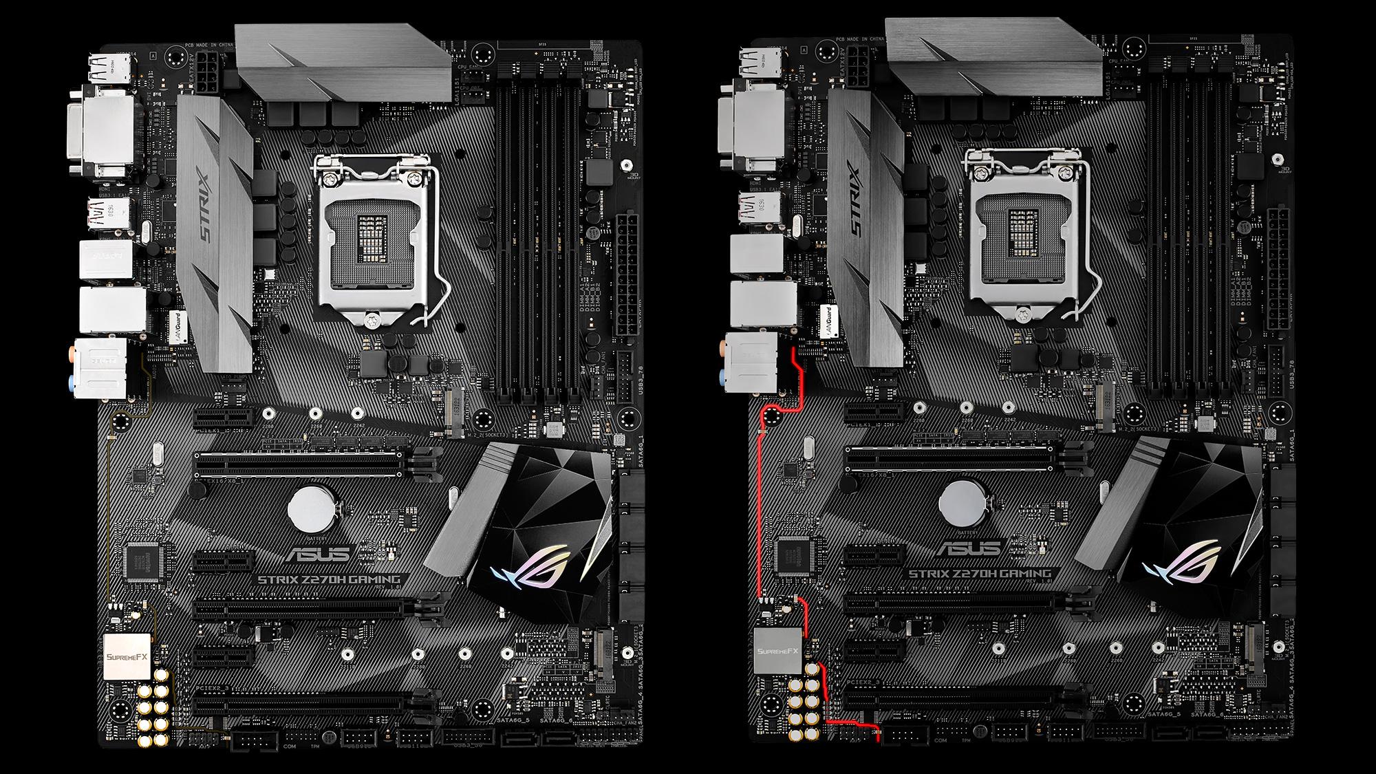 ROG Strix Z270H Gaming Estas son las nuevas motherboards Z270 de ASUS