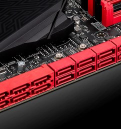 rampage v extreme connectors [ 2560 x 1491 Pixel ]