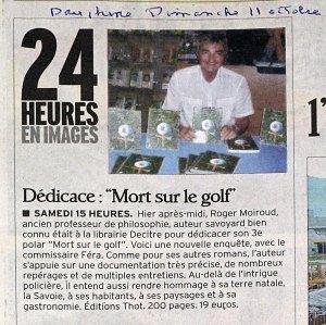 20091011 - Dauphiné Libéré