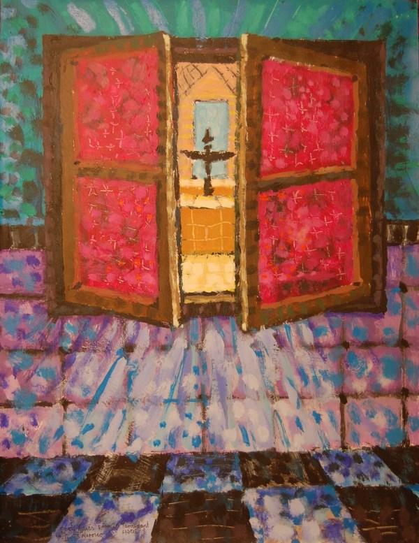 Morocco Paintings Roger Davis' Art