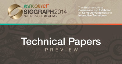 SIGGRAPH 2014