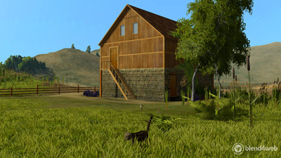 The Farm  - Blend4web