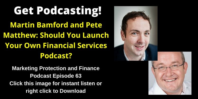 Should You Launch Your Own Financial Services Podcast