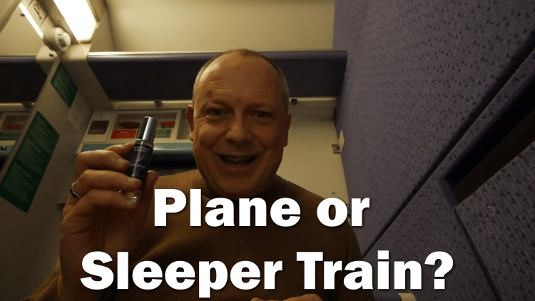 Is the Caledonian Sleeper train better than an aeroplane - RogVLOG19