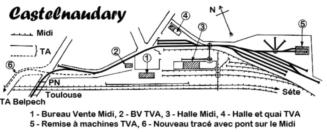 Tramways de l'Aude – Belpech to Castelnaudary