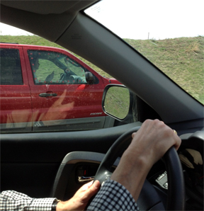 Texting on I-64a