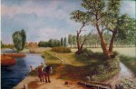 After Constable (unfinished) by Gordon Burness