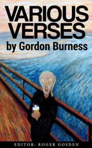"""Book cover from Gordon's painting titled """"Ice Cream"""" after Edvard Munch's """"I Scream"""""""