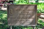 Thanksgiving memorial plaque