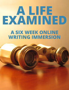 A Life Examined: A Six Week Online Writing Immersion