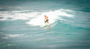 Image of Guy Surfing