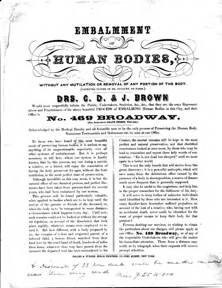 President Abraham Lincoln's Autopsy