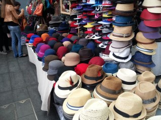 Reminded me of the hats that we wear for Baroque Again string quartet. :)