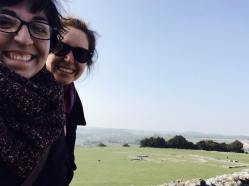 Cici and Andrea Old Sarum
