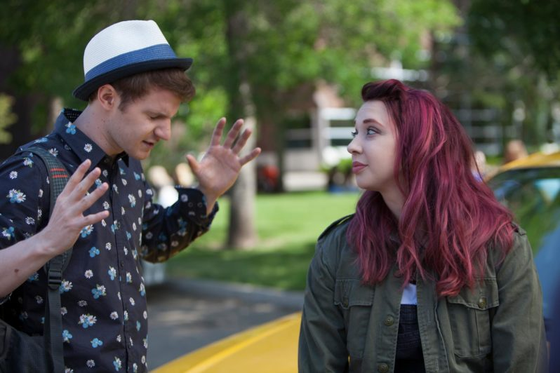 Movie Review Cyrano heads to high school in Roxy  Movie Nation