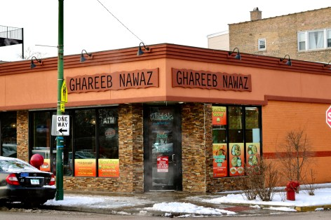 One of the most famous restaurants on Devon is Ghareeb Nawaz. The 24- hour eatery, whose name references a Holy Shrine in India, is known for its cheap prices and massive proportions.