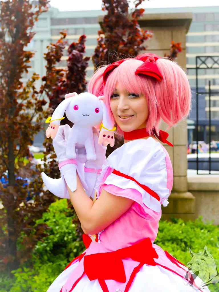 Madoka from Puella Magi Madoka Magica. One of the most iconic magical girl characters!