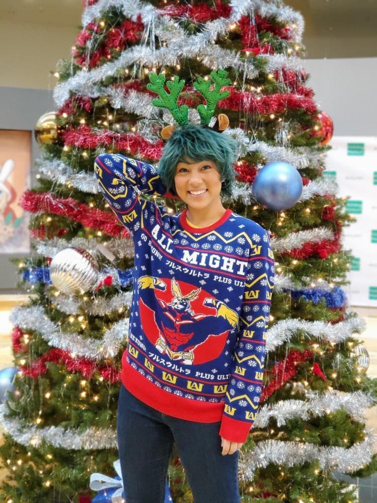 Christmas Sweater cosplay