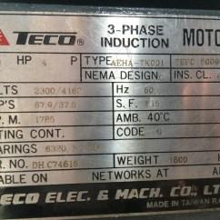 Teco Motor Wiring Diagram 1994 Mercedes Sl500 3 Phase Induction Circuit