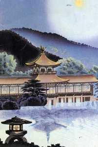 Japanese woodcut, postcard img381