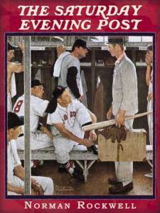 Norman Rockwell, 'The  Rookie,' Saturday Evening Post