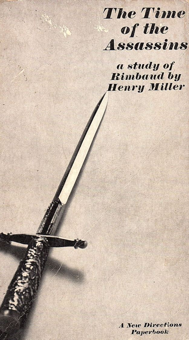 Henry Miller, 'The Time of the Assassins,'book cover