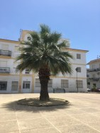 The Casa-Museo Zenobia y Juan Ramón Jiménez in Moguer, Span is about five minutes from the town center, shown here.